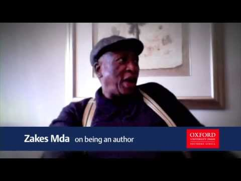Zakes Mda: On being an author