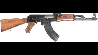 Обзор и тест: АК-47, 1:1 - Игрушечный Автомат Калашникова P.1093