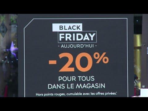 """Black Friday"" sales bonanza hits Paris stores"