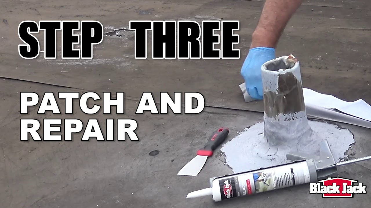 How To Apply Silicone Roof Coatings Using Black Jack