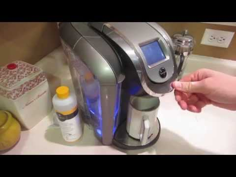 How to Clean/Descale Keurig 2.0