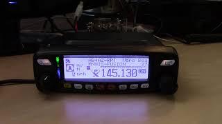 Yaesu FTM-100D C4FM/Analog Dual Band Radio, System Fusion/APRS/Wires-X