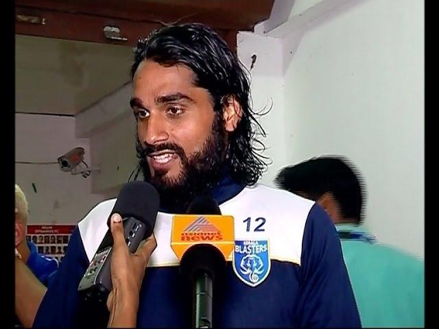 Sandesh Jhingan response after match with Delhi Dynamos FC