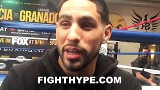 DANNY GARCIA CHECKS BOB ARUM'S PBC CRITICISM; TELLS HIM HE CAN KEEP HIS ESPN PLATFORM