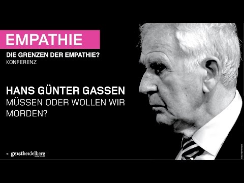 Hans Günter Gassen – Müssen oder wollen wir morden? – Interview – DAI Heidelberg