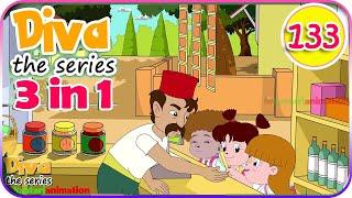 Seri Diva 3 in 1 | Kompilasi 3 Episode Bagian 133 | Diva The Series Official