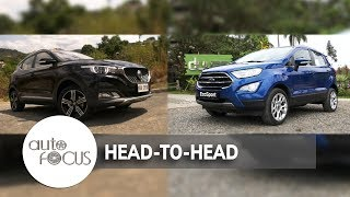 2018 Ford Ecosport Vs. 2018 MG ZS | Head-to-Head