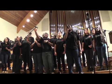 Grinnell College YGB Gospel Choir 2015 Tour Part 1