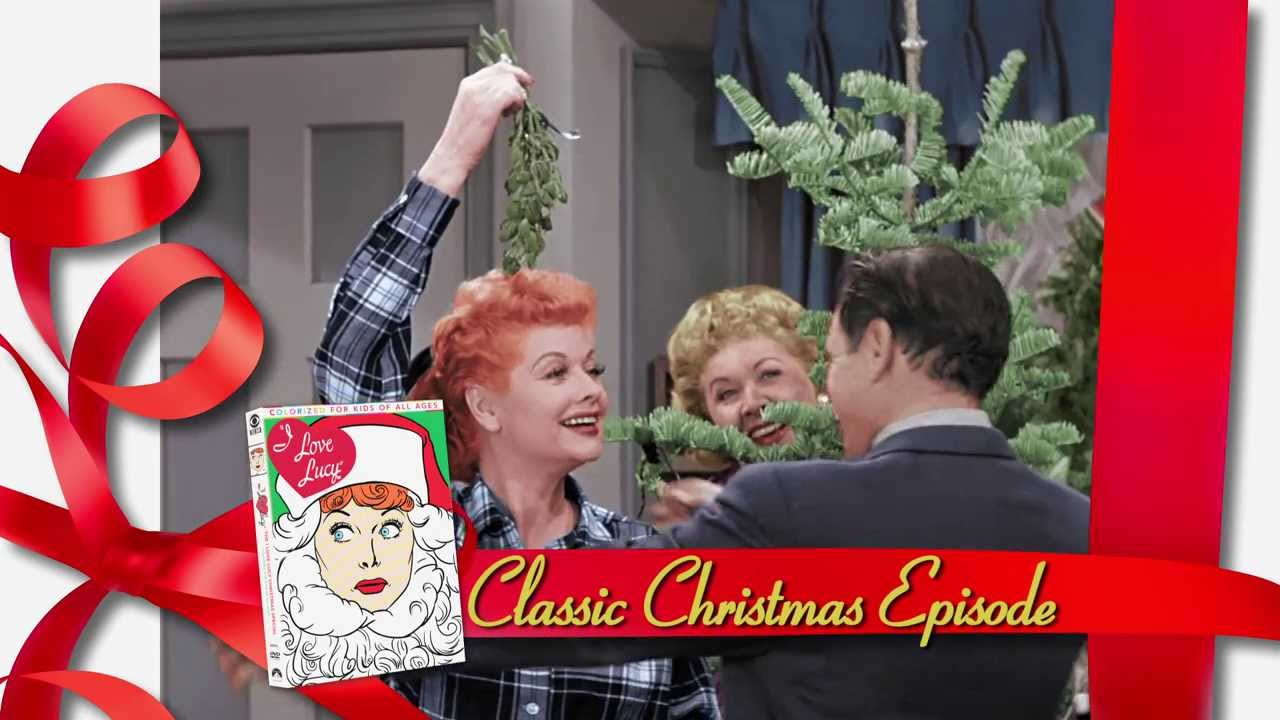 I Love Lucy Christmas Special on DVD! - YouTube
