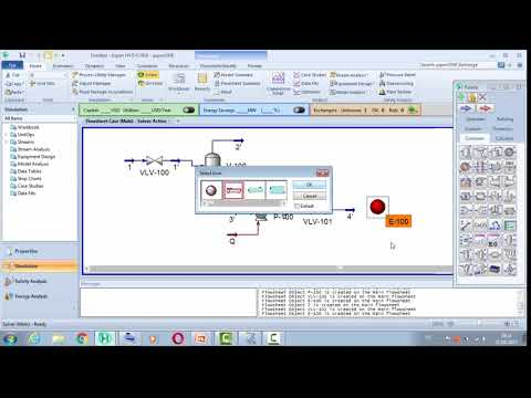 Dynamic Simulation with HYSYS ( NGL Stream process treatment)