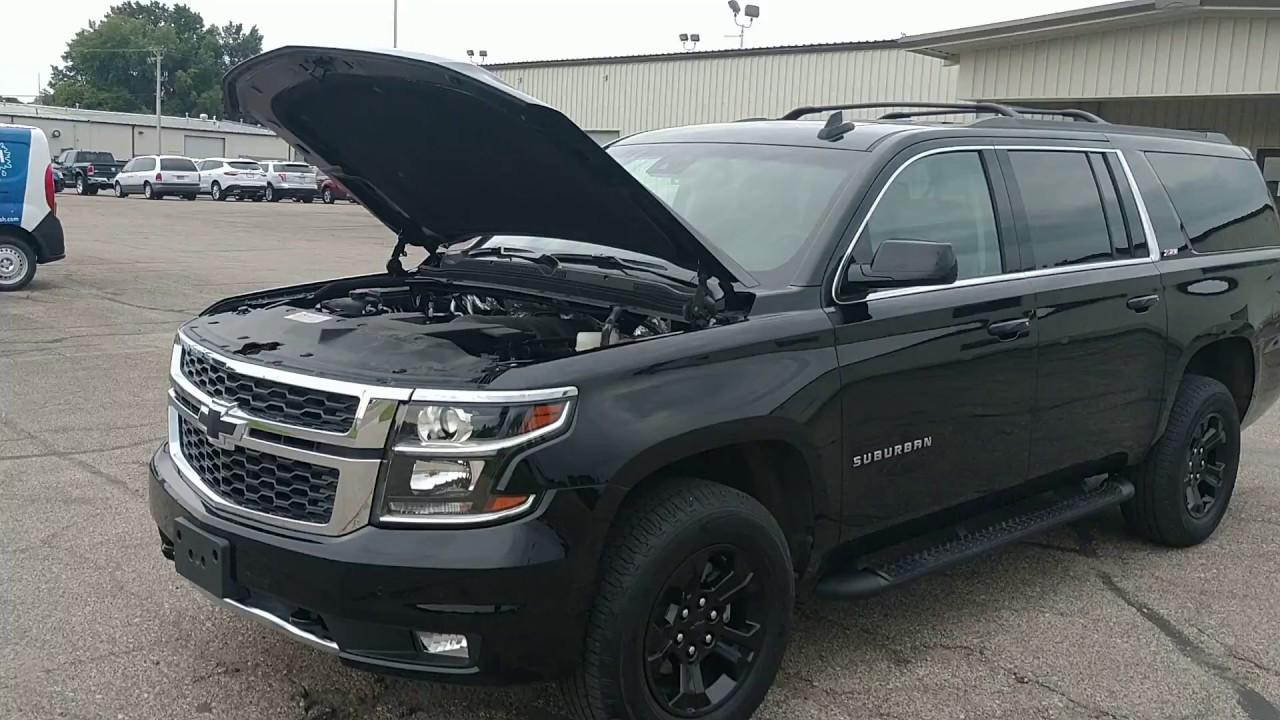 Repairable Salvage 2017 Chevy Suburban Z71