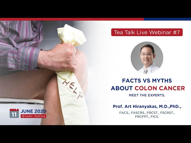 Webinar #7 Facts vs Myths about Colon Cancer; Meet the Experts