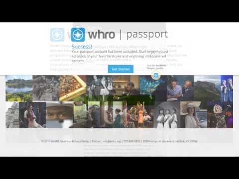 WHRO - Passport FAQ