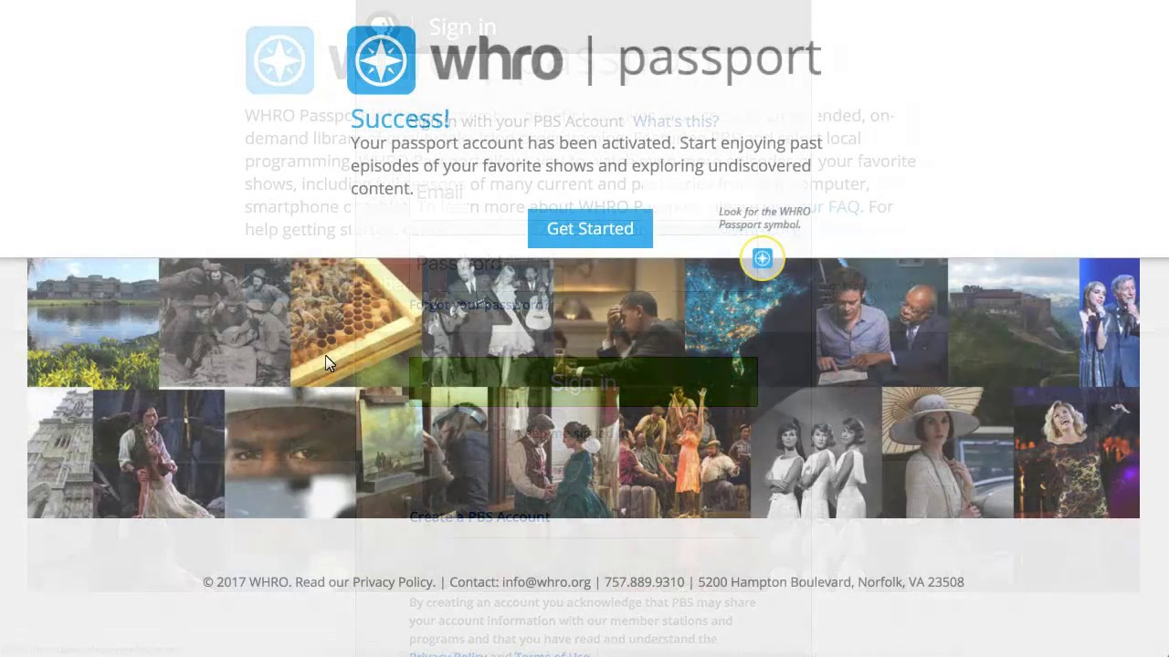 Whro passport