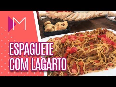 Espaguete com lagarto - Mulheres (14/09/20018)