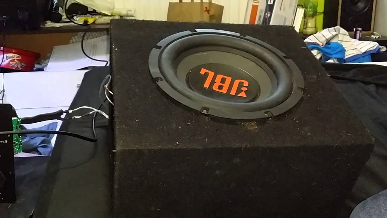 1000w jbl car subwoofer on 7.2 home theater system - youtube