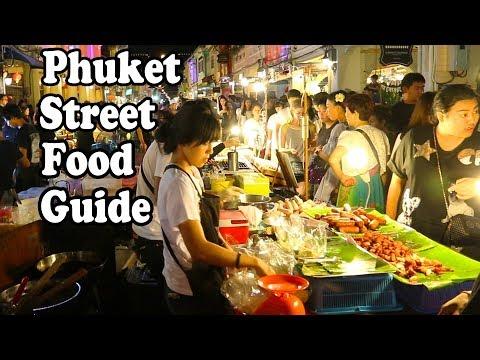The Best Street Food in Phuket. Thai Street Food Tour in Phuket Thailand