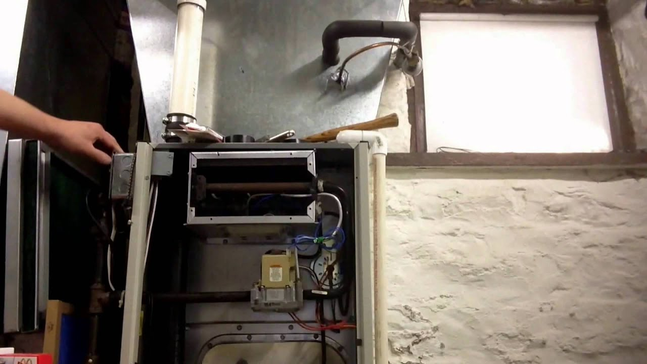 Furnace explosion slow mo furnace safety