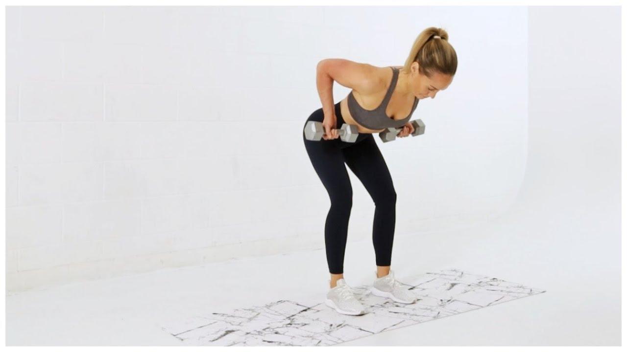 Week 4 Day 3 // Full Body Strength + Cardio Workout