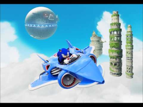 Sonic and All Stars Racing Transformed- Sky Sanctuary/ Original Back In Time Remix