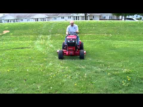 how to cox stockman 11.5hp change cutting belt