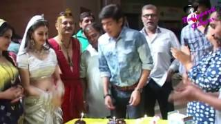 Birthday Celebration Of Aasif Shaikh 'Vibhuti Narayan Mishra' Of TV Serial 'Bhabhi Ji Ghar Par Hain'