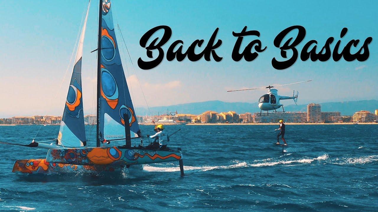 Back To Basics  Flying Phantom & Foil Wakeboarding (extreme Sailing)