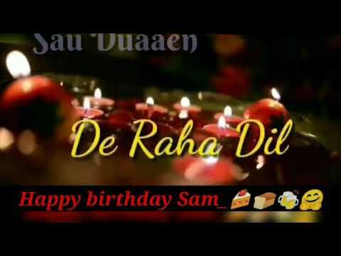 I Wish You Happy Happy Birthday Cover Song Sonu Nigam !!