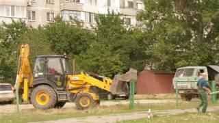 Реконструкция футбольного поля. 1
