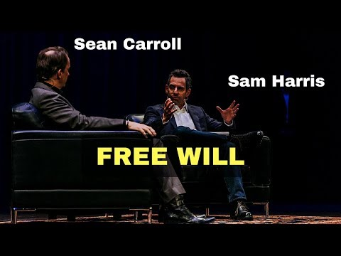 Sam Harris and Sean Carroll talking about free will