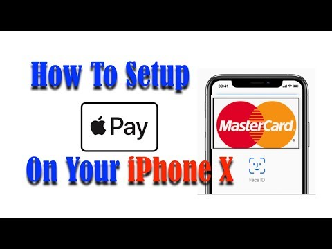 How to add apple pay on iphone x