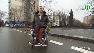 Где больше всего не «рады» человеку в инвалидной коляске? -Абзац! - 06.04.2016