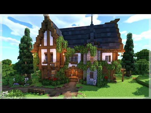 Minecraft: How to Build a Medieval Tavern/Inn