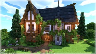 Minecraft: How to Build a Medieval Tavern/Inn