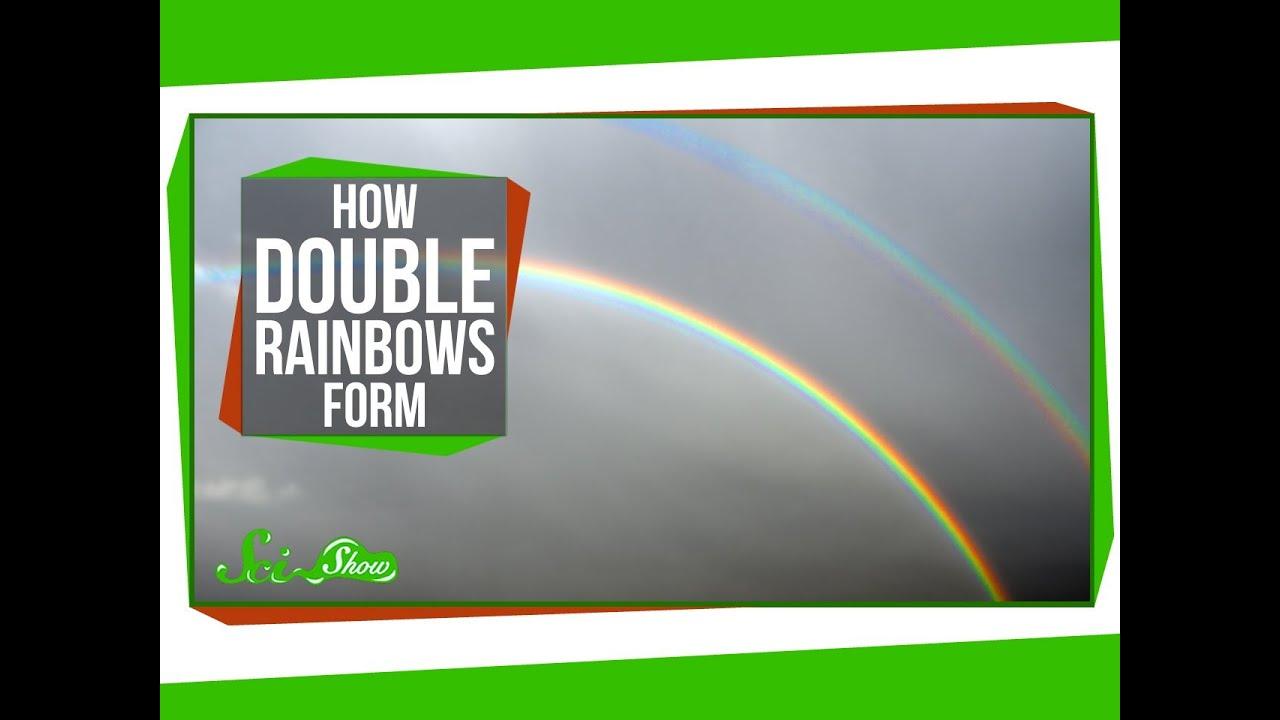 why do rainbows form