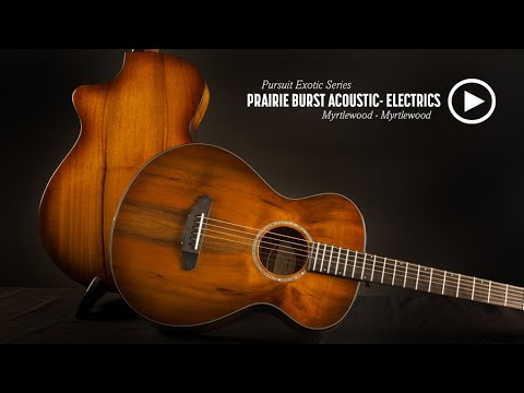 Breedlove Guitars: Introducing the Pursuit Exotic Prairie Burst Acoustic-Electric Guitars