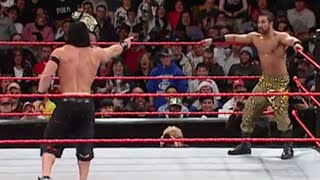 You Can't See Me Match- John Cena vs. Daivari : Raw, December 12, 2005