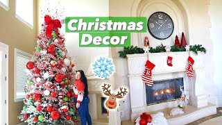 Decorating my House for Christmas! Vlogmas Day 1