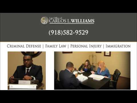 Carlos Williams | Interview with KJAMZ 105.3 | Tulsa Criminal Attorney