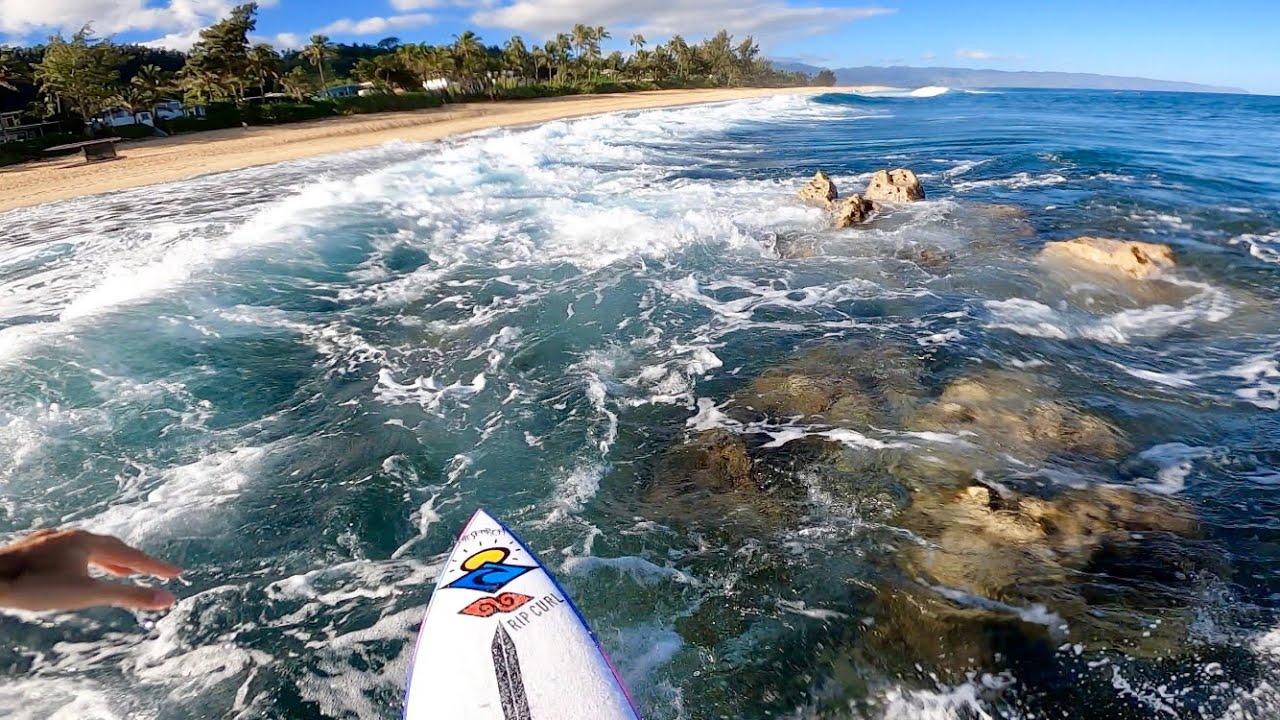 Surfing On Rocks Experiência completa em POV