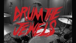 "DRUM THE JEWELS - drum medley of the ""RUN THE JEWELS 2"" album - (by Guido Zima Montanarini)"