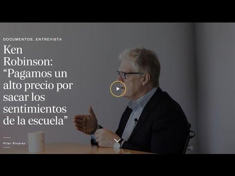 """Ken Robinson: """"La educación exige emociones"""""""