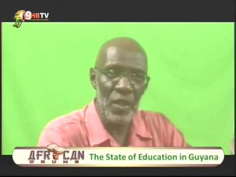 African Drums:  Education in Guyana
