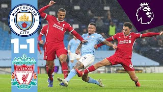 HIGHLIGHTS | City 1-1 Liverpool | Gabriel Jesus Turn + Finish! | Rodri Speaks!