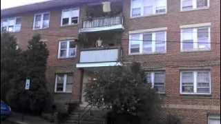 How Not To Throw A Couch Off Of A Third Floor Balcony