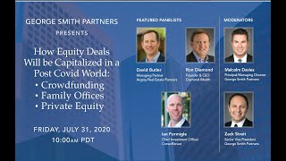How Equity Deals Will Be Capitalized Post-COVID: Crowdfunding, Family Offices, Private Equity