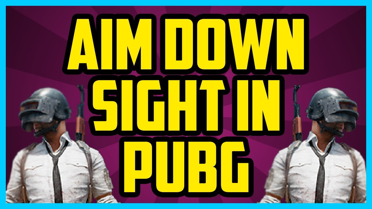 How To Aim Down Sights In Player Unknown Battlegrounds (QUICK & EASY) – PUBG How To Look Down Sights