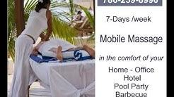 Massage Therapist in Miami FL Massage Therapy in Miami Mobile to your Home Hotel Office