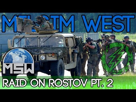 Milsim West - Raid on Rostov - Pt.2 - Assault on the Factory