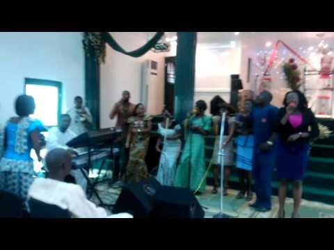 Joy overflow by Agape Christian Assembly  youth choir